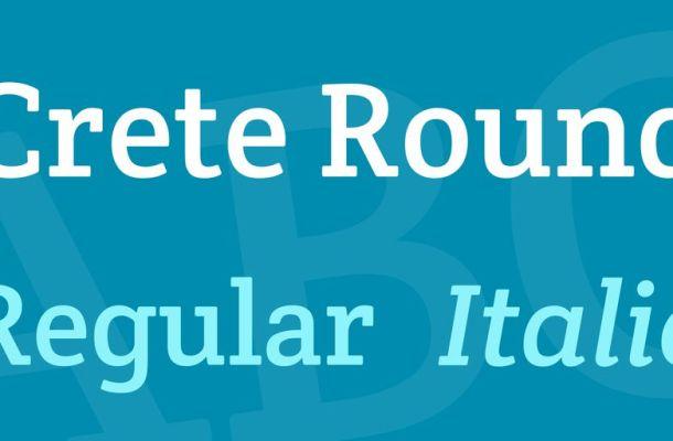 Crete Round Font Family