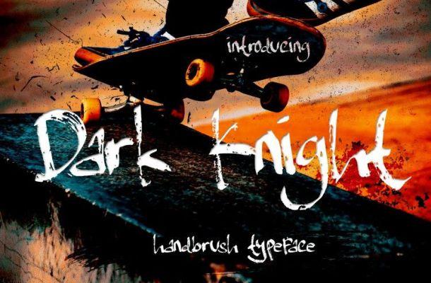Dark Knight Font
