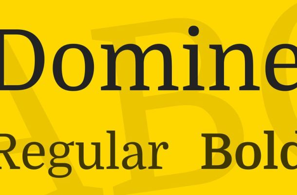 Domine Font Family