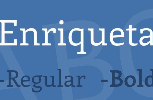 Enriqueta Font Family