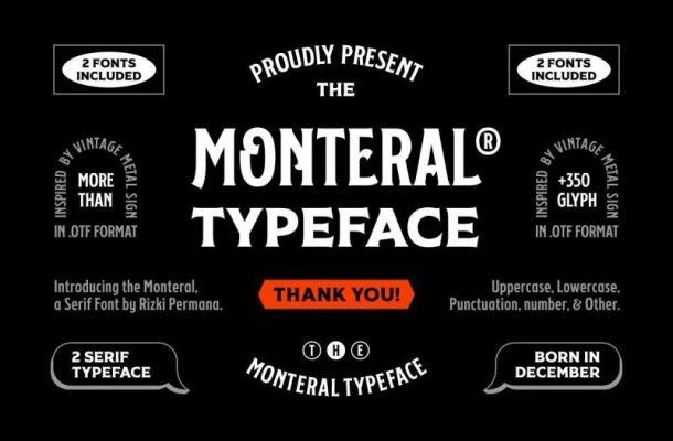 FF Monteral Serif Font