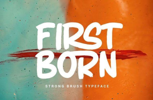 Firstborn Font