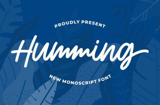 Humming Font