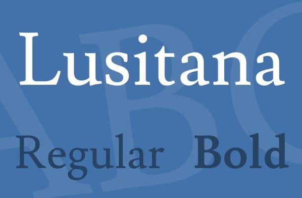 Lusitana Font Family