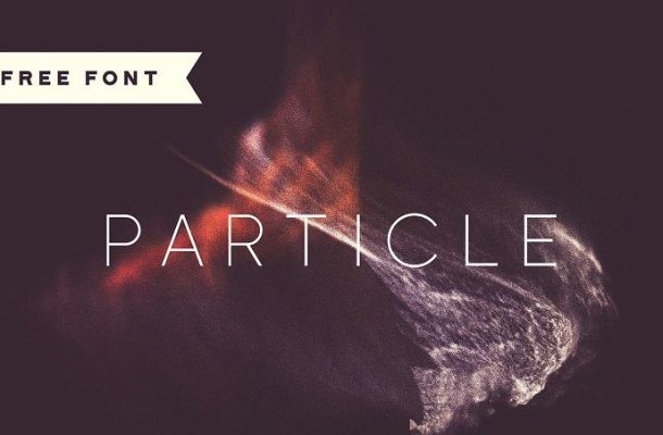 Particle Typeface