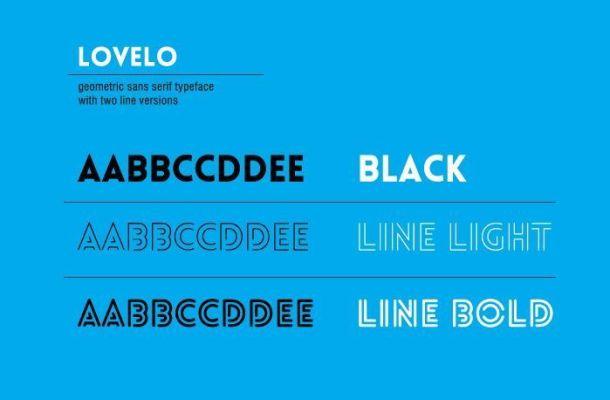 Lovelo Font Free