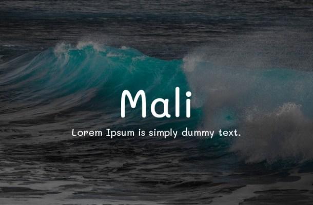 Mali Font Family