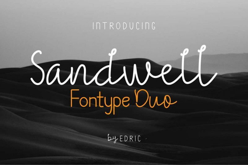 Sandwell-Duo-Font