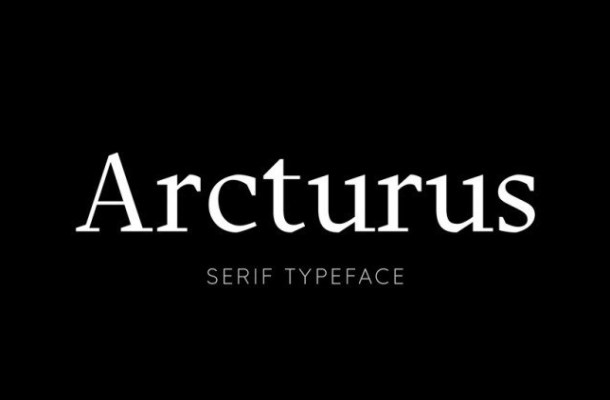 Arcturus Font