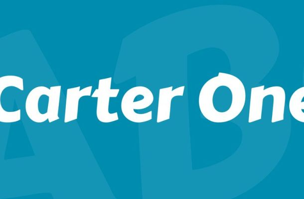 Carter One Font