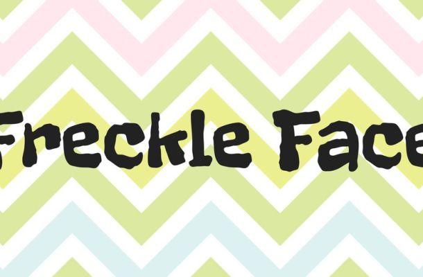 Freckle Face Font