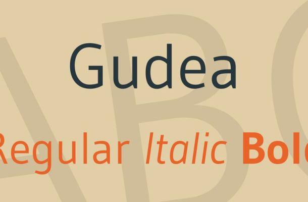 Gudea Font Family