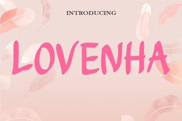Lovenha Font
