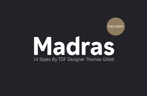 Madras Font Free
