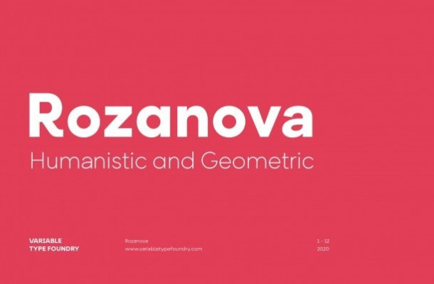 Rozanova Font
