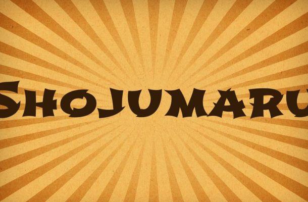 Shojumaru Font