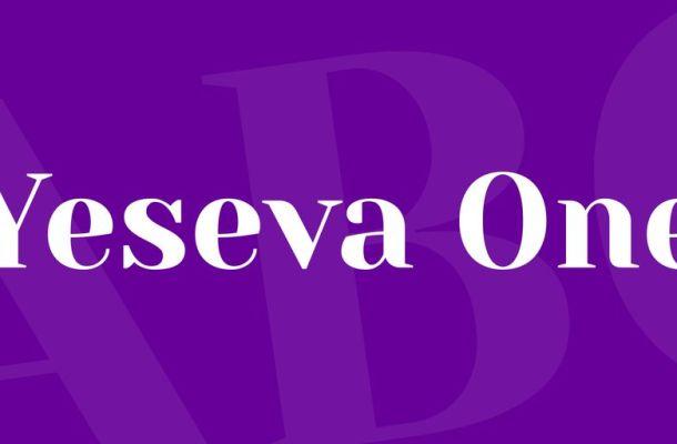 Yeseva One Font