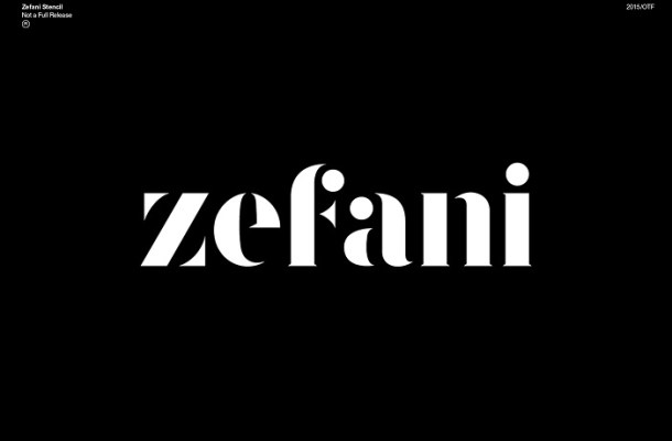Zefani Font