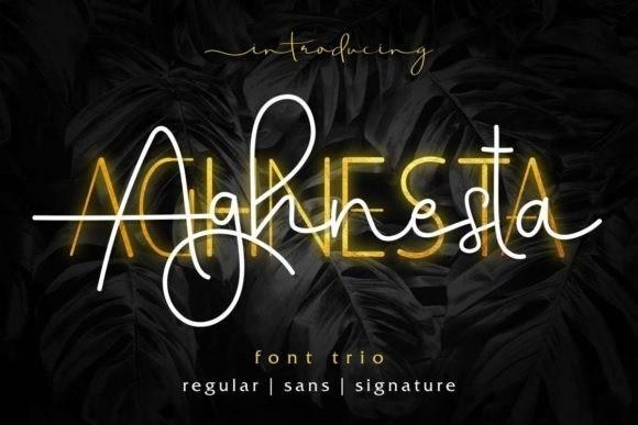 Aghnesta Font