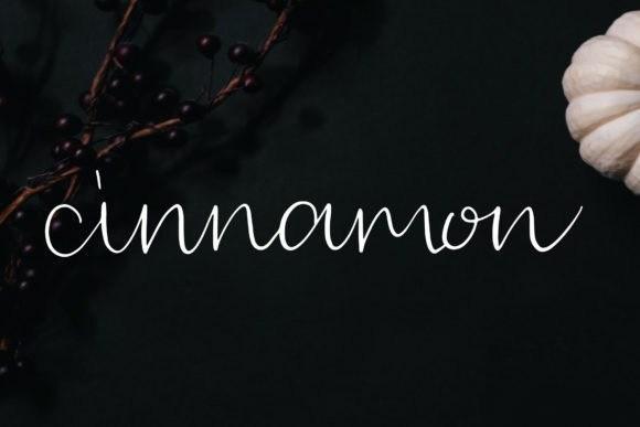 Cinnamon Font