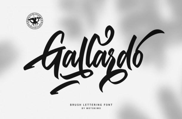 Gallardo Script Font