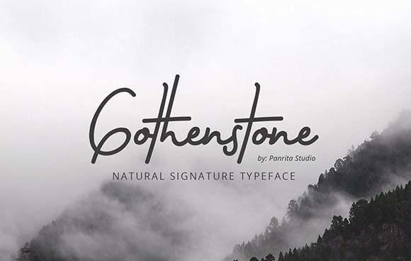 Gothenstone Font