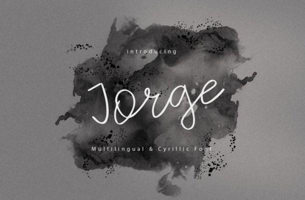 Jorge Handwritten Font