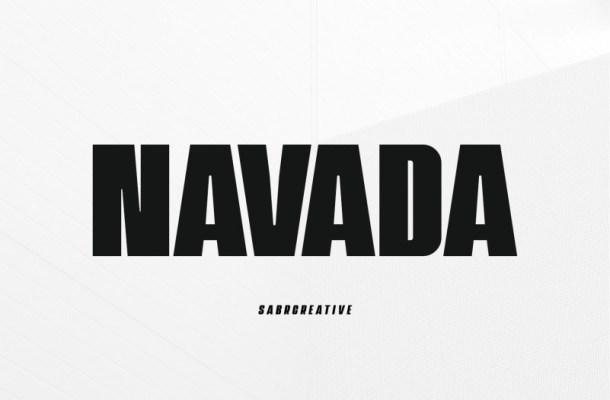 Navada Typeface
