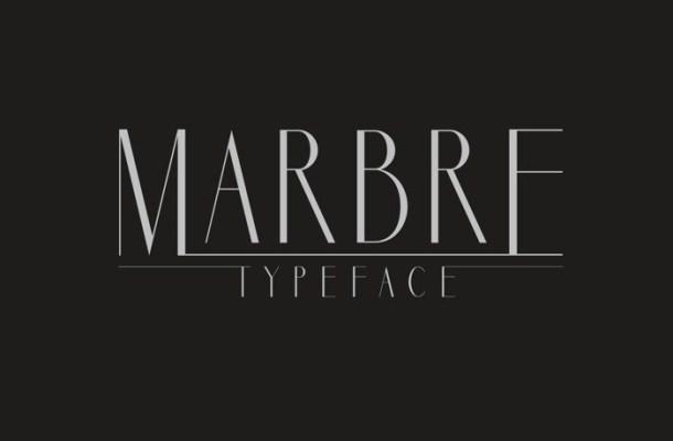 Marbre Sans Font