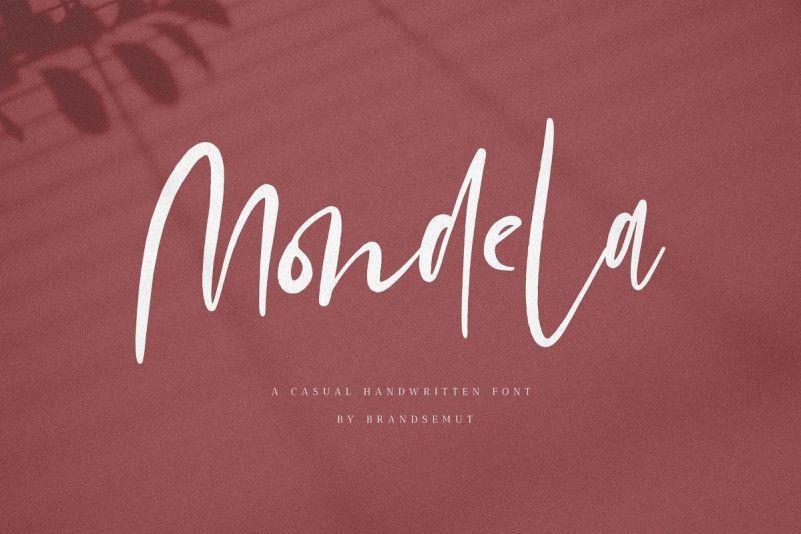 Mondela-Casual-Handwritten-Font