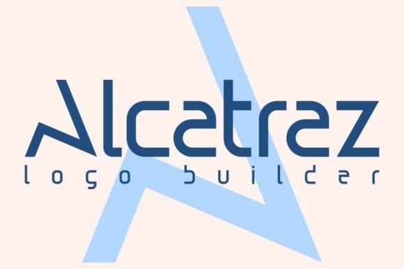 Alcatraz Display Font