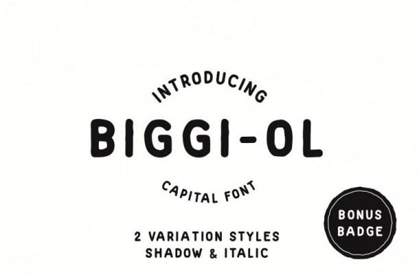 Biggi Ol Display Font