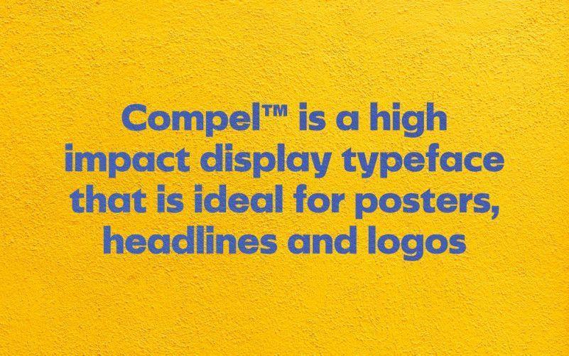 compel-geometric-font-1