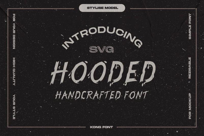 hooded-font