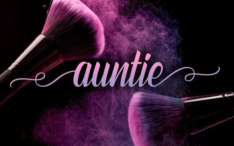 Auntie-Script-Font