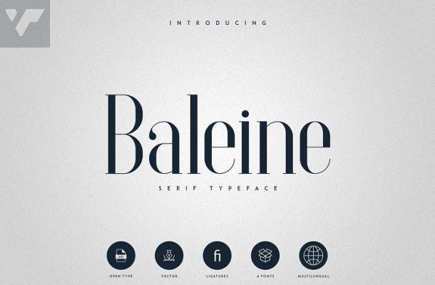 Baleine Serif Typeface