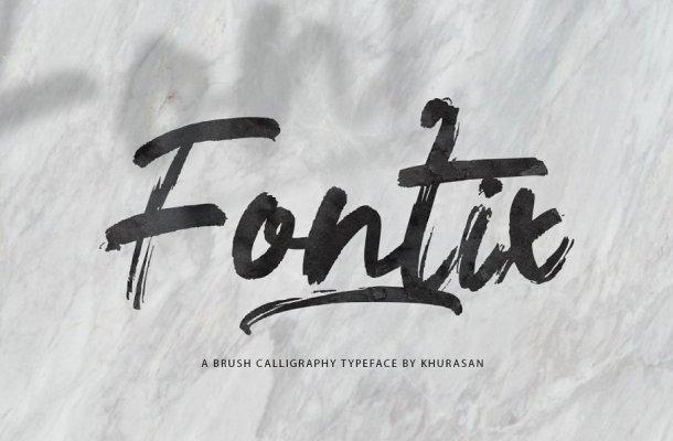 Fontix Brush Font
