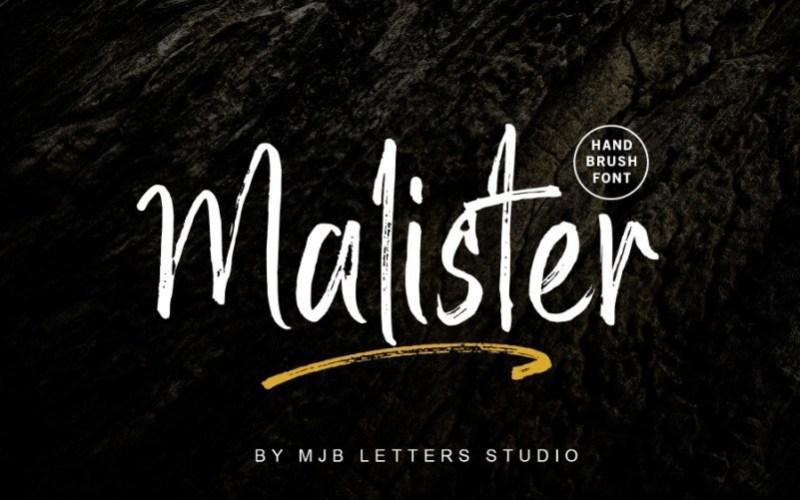Malister-Brush-Font-1
