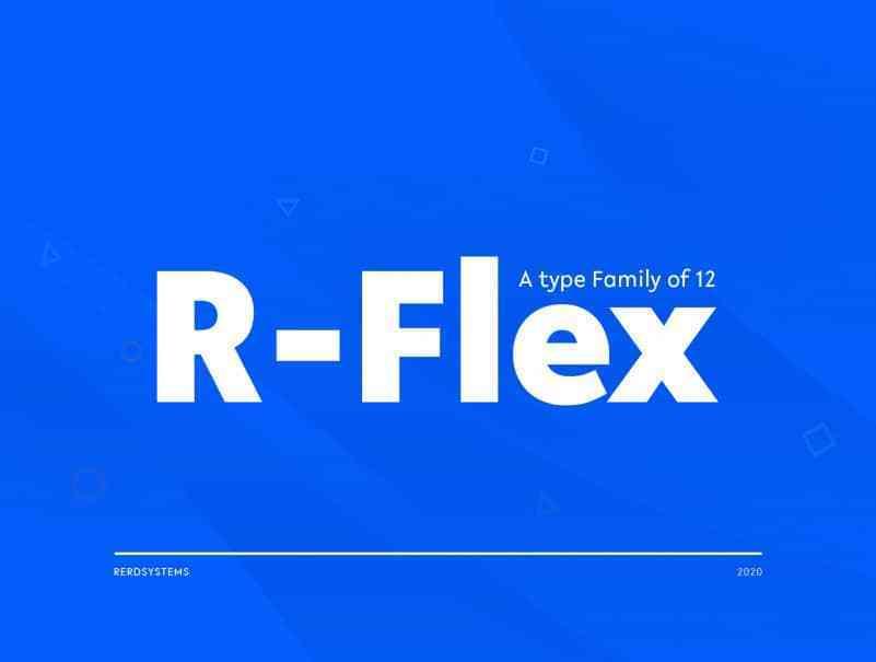 R-Flex-Sans-Serif-Font-1