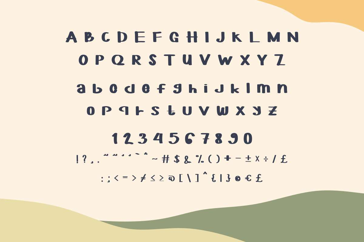 YOFORIA-Rounded-Font-3