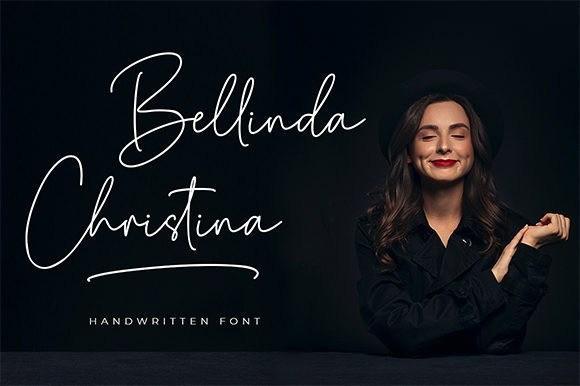 Bellinda Christina Signature Font