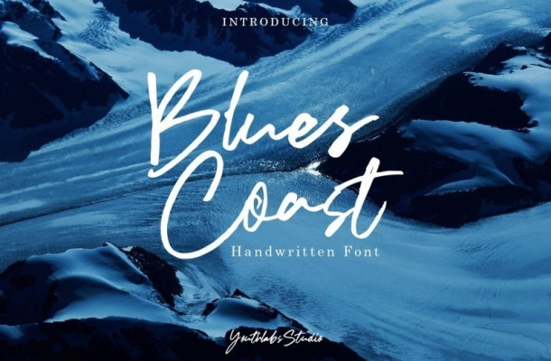 Blues Coast Handwritten Font