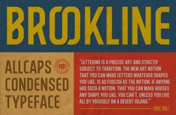 Brookline Display Font