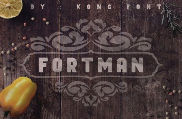 Fortman Sans Serif Font