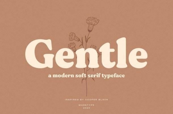 Gentle Soft Serif Font