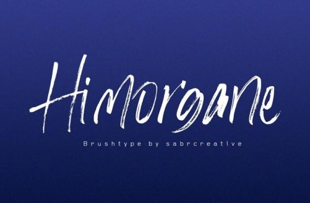 Hi Morgane Brush Font