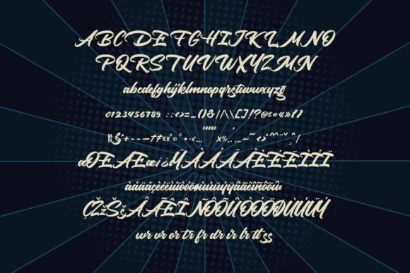 mokutton-calligraphy-font-3
