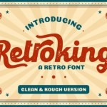 Retroking Retro Font