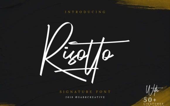 risotto-font-1