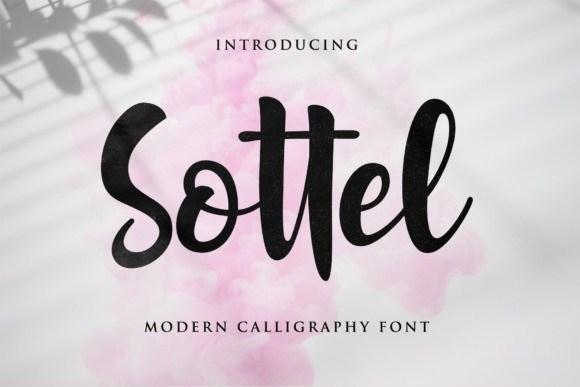 Sottel Bold Calligraphy Font